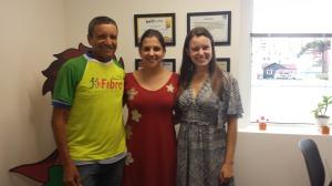 Waldir Ramos visita sede do Unidos Pela Vida