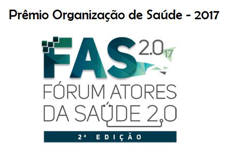 Prêmio Fórum Atores da Saúde - 2017
