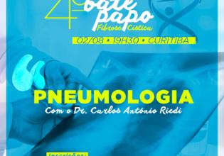 Pneumologia na FC é o tema abordado na 4ª edição do nosso Bate-Papo!