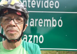 Homem percorre 650km de bicicleta e ultrapassa as fronteiras do Brasil para divulgar a Fibrose Cística