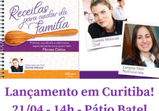 21/04 – Curitiba – Lançamento do Livro Receitas para Fibrose Cística