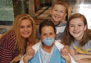 A primeira respiração da minha noiva pós transplante pulmonar