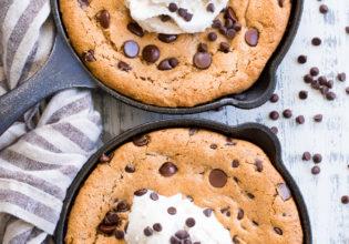 Cookie de Frigideira sem farinha