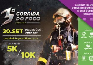 3º Corrida do Fogo apoia o Mês Nacional de Conscientização da Fibrose Cística em Curitiba!