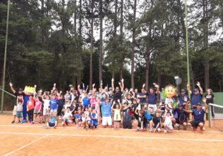 Super Fibra marca presença na 10º Copa Amigos de Tênis e Pádel