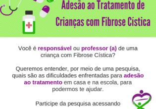 Participe da pesquisa sobre adesão ao tratamento de crianças com Fibrose Cística