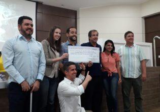 Unidos Pela Vida recebe arrecadação da 10º Copa Amigos de Tênis e Pádel