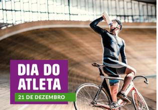 Dia do Atleta: pratique atividades físicas e seja um atleta de fibra!