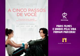 Unidos pela Vida e Paris Filmes firmam parceria!