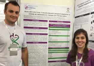 Unidos pela Vida apresenta resultados parciais de pesquisas no VII Congresso Brasileiro de Fibrose Cística