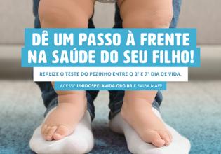 Teste do Pezinho: pesquisa realizada pelo Unidos pela Vida revela realidade do exame no Brasil