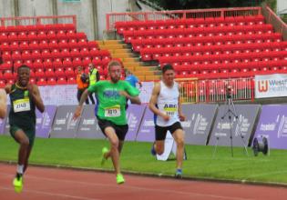 WTG 2019: Alan Philippsen fica em quarto lugar na prova dos 100 metros da competição
