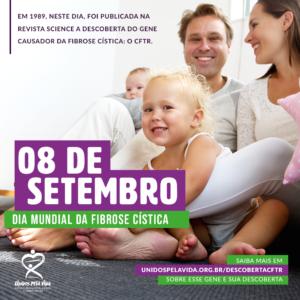 Setembro Roxo 2019 08 De Setembro Dia Mundial Da Fibrose Cistica Unidos Pela Vida
