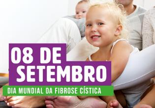 Setembro Roxo 2019 | 08 de setembro – Dia Mundial da Fibrose Cística