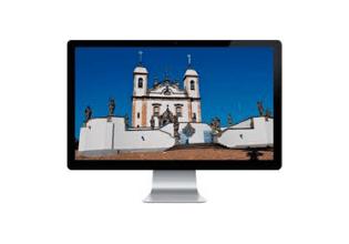 #TôemCasa   DICA #16: Utilize a internet para conhecer museus