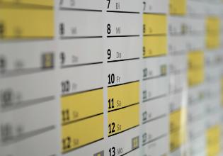 #TôemCasa | DICA #27: Planeje a rotina da família em um calendário para ajudar na organização temporal