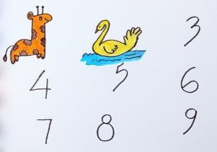 #TôemCasa | DICA #41: Desafie as crianças a desenharem animais e objetos com números!