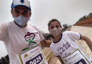 365 pessoas de todo o Brasil participaram da Corrida e Caminhada Virtual da Fibrose Cística