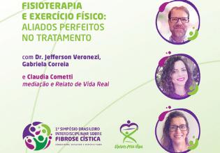 Debate sobre fisioterapia e exercício físico fará parte da programação do 1º Simpósio Brasileiro Interdisciplinar sobre Fibrose Cística