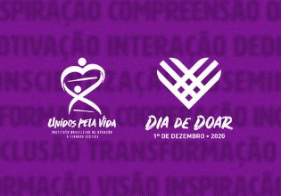 Faça uma doação ao Unidos pela Vida neste Dia de Doar