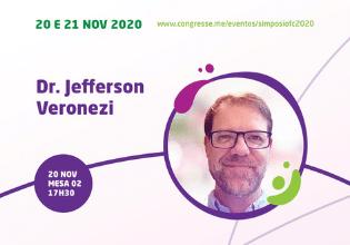 Dr. Jefferson Veronezi  – Conheça os palestrantes do 1º Simpósio Brasileiro Interdisciplinar sobre Fibrose Cística