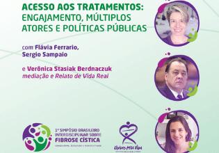 Mesa do 1º Simpósio Brasileiro Interdisciplinar sobre Fibrose Cística debaterá acesso a tratamentos e políticas públicas