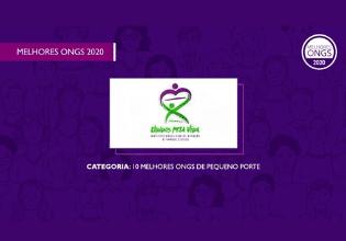 O Instituto Unidos pela Vida está entre as 10 melhores ONGs de pequeno porte do Brasil em 2020