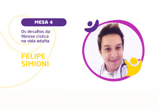 Felipe Simioni Santos | Conheça os palestrantes do 2º Simpósio Brasileiro Interdisciplinar sobre Fibrose Cística