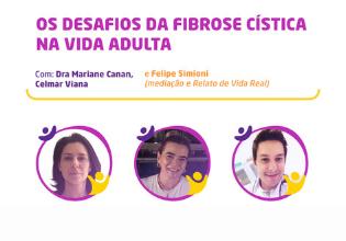 Mesa do 2º Simpósio Brasileiro Interdisciplinar sobre Fibrose Cística trará debate sobre os desafios da fibrose cística na fase adulta