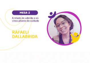 Rafaeli Dallabrida | Conheça os palestrantes do 2º Simpósio Brasileiro Interdisciplinar sobre Fibrose Cística