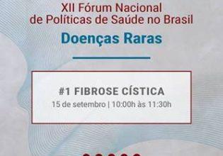 Participe do XII Fórum Nacional de Políticas de Saúde no Brasil