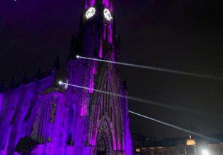 Paróquia Nossa Senhora de Lourdes em Canela/RS será iluminada de roxo em alusão ao Setembro Roxo 2021