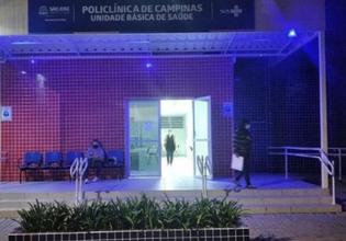 Policlínicas em São José/SC são iluminadas de roxo em alusão ao Setembro Roxo 2021