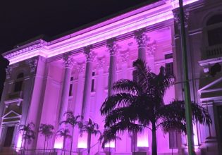 Associação Comercial de Maceió/AL será iluminada de roxo em alusão ao Setembro Roxo 2021